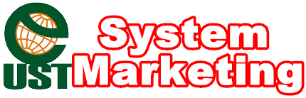 logo UST System Marketing 紅