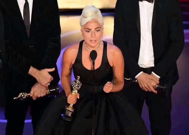 【Lady Gaga 2019奧斯卡獲獎感言】844777